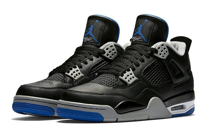 Air Jordan 4 (Black/Royal)