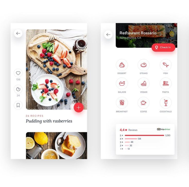 "232 Likes, 4 Comments - Design.bot (@design.bot) on Instagram: ""iOS Recipe app by Virgil Pana 👉 Follow us , Get Inspired! . . . . #designbot #ui #dribbble #ux…"""