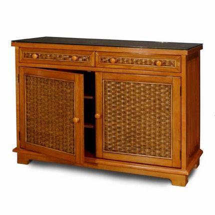 Credenza Wicker Cottage Cabinet