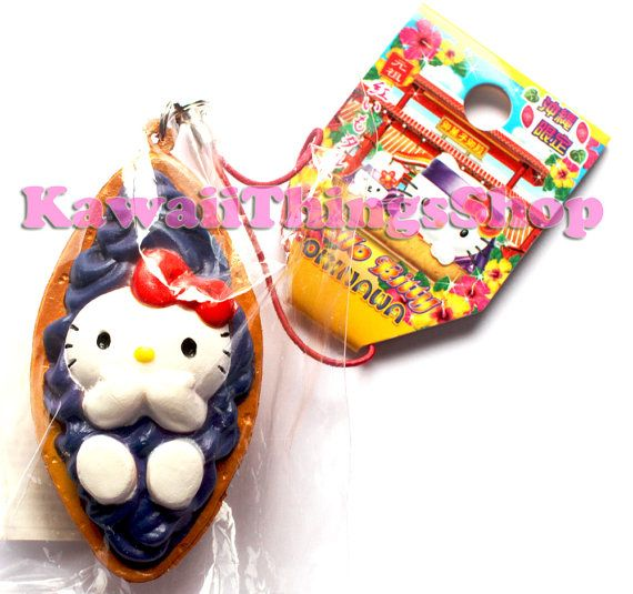 RARE Sanrio Hello Kitty Okinawa Tart Squishy by Kawaiithingsshop, ?25.00 squishies Pinterest ...