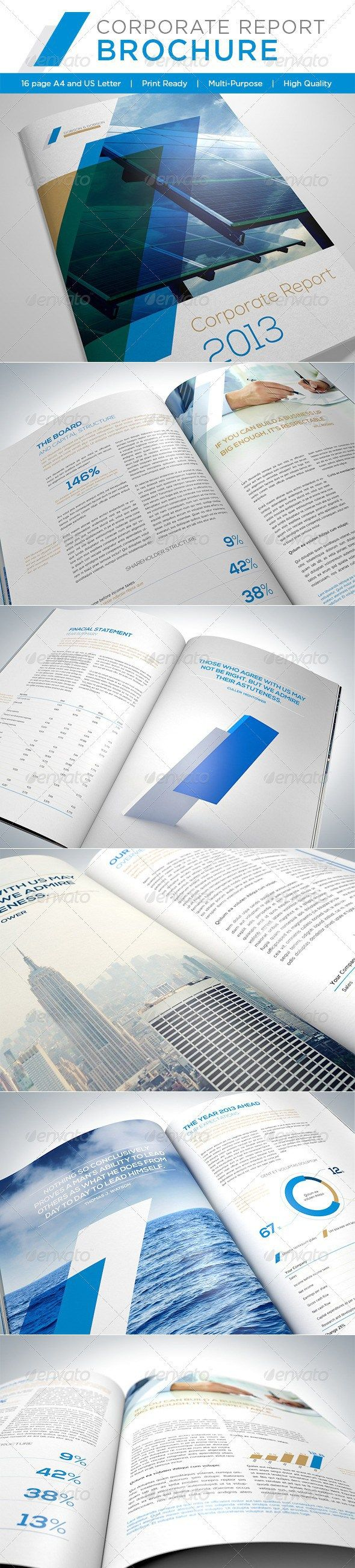 31 best annual reports images on Pinterest | Annual reports ...