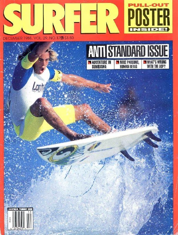 Christian Fletcher - 1988 Surfer Magazine