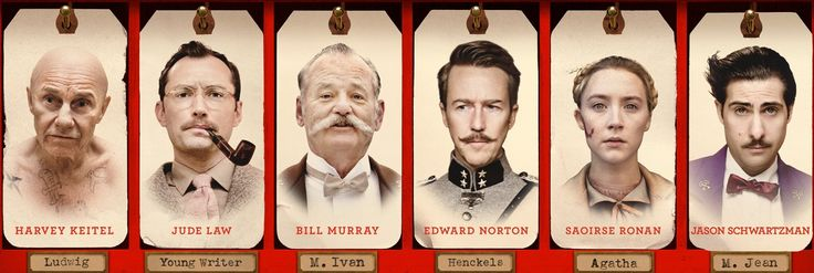 New Poster for The Grand Budapest Hotel shows off the cast | Live ...