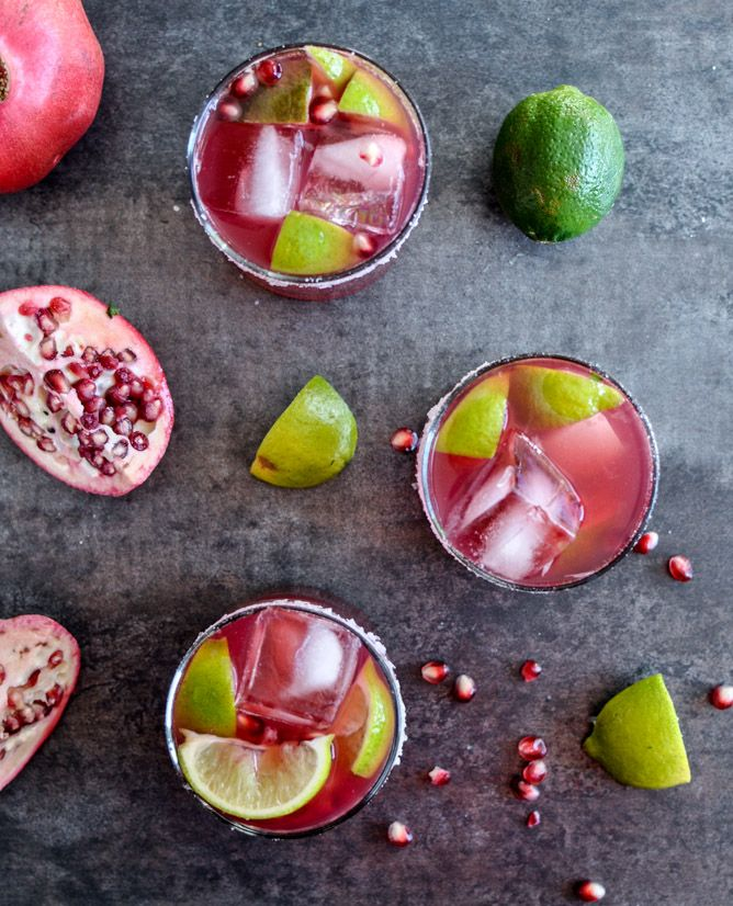 pomegranate margarita }: Happy Hour, Tequila Cocktails, Cocktail ...