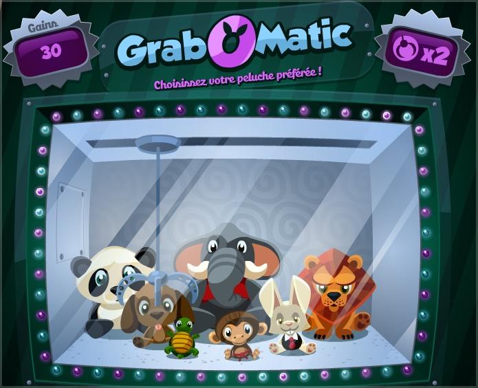 Mini-game GrabOMatic - La Riviera