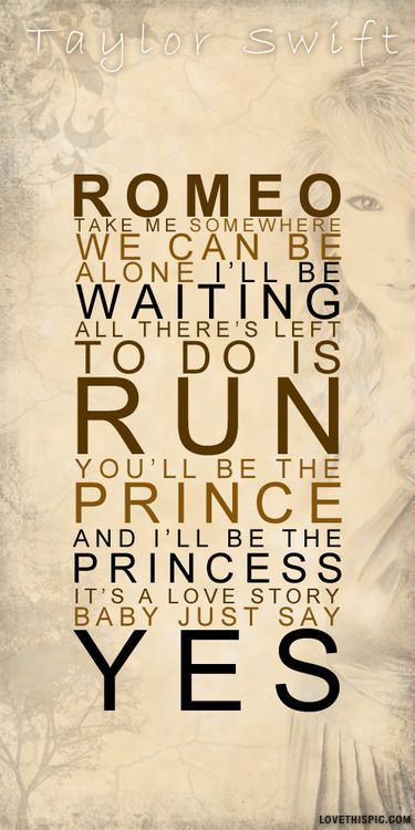 song quote from tswift