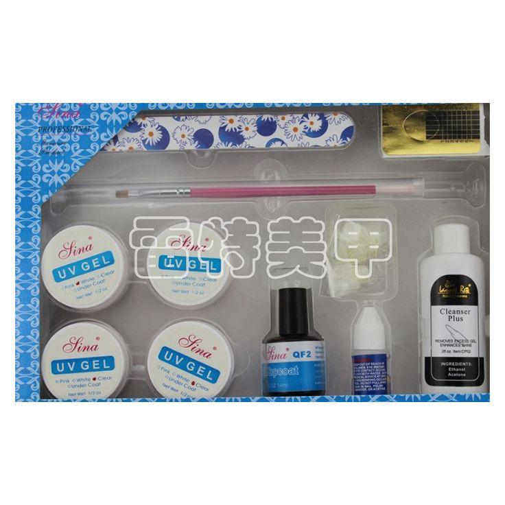 Newest Professional Acrylic Nail Kit UV Gel Kit Nail Sets Brushes Cuticle Oil Nail Tools Set Nail Glue