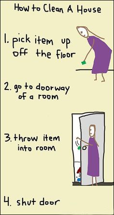How to clean a #house in 4 steps. For better results call expert cleaners in #London: http://www.housecleaninglondon.co.uk/domestic-cleaning.html