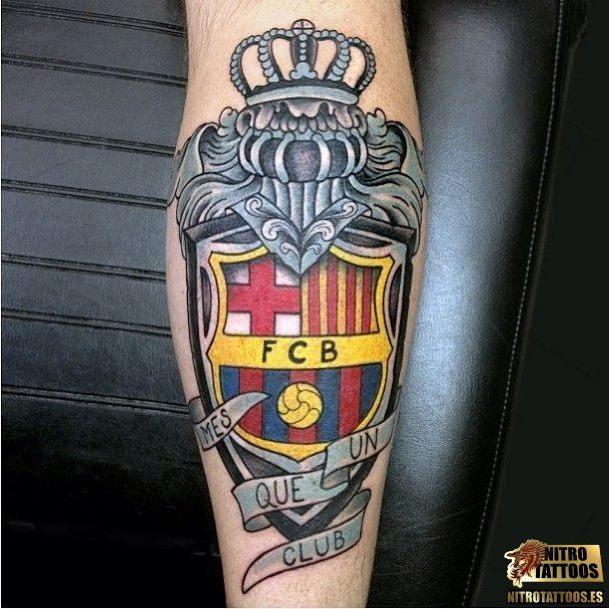tatuajes de fc barcelona tatuajes pinterest tatuajes