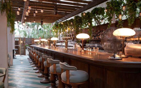 Kaper Design; Restaurant & Hospitality Design: Soho House; Miami- Cecconi's Restaurant