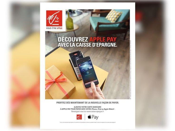 La Caisse d'Épargne fait la pub d'Apple Pay   MacGeneration