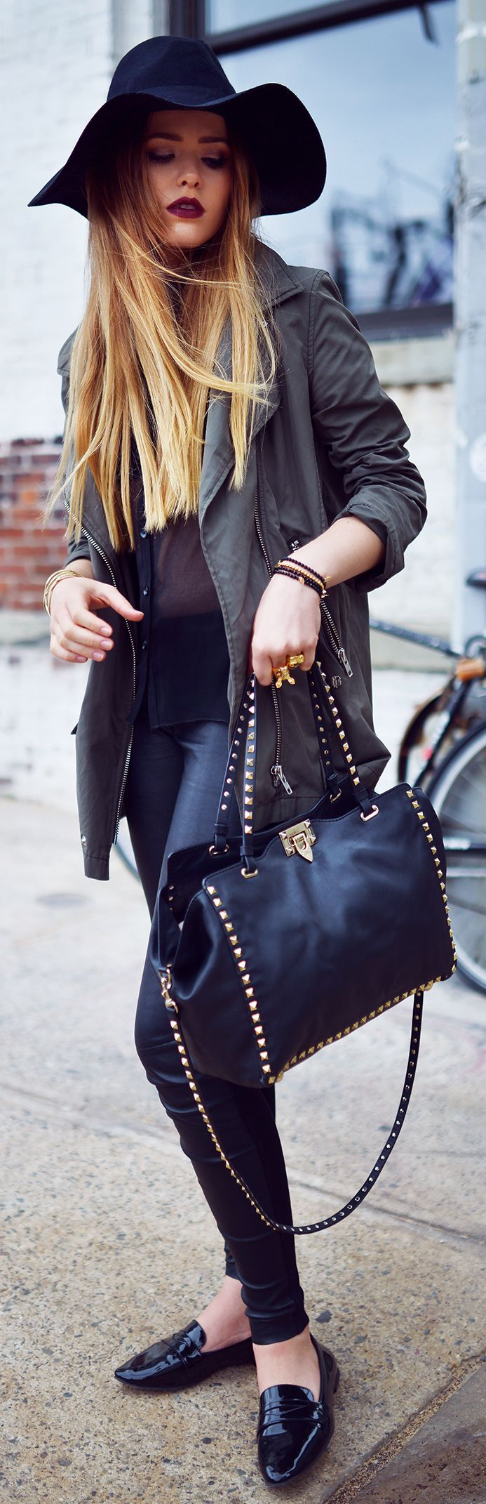 Zara Bright Black Lady Pointy Toe Flats by Kayture