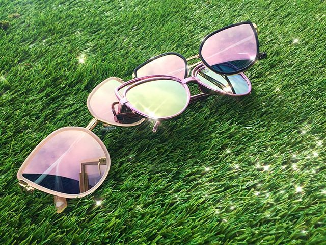 They're here! Grace & Penelope sunglasses! P.S the lenses are colour changing in sunlight - Available instore and online www.thesassybird.com