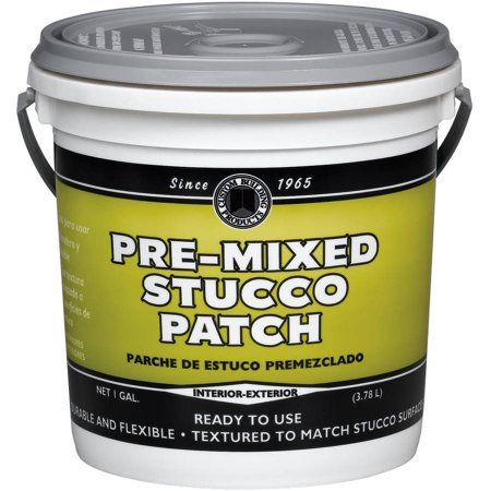 Dap 60817 1 Gallon Pre-Mixed Stucco Patch, Multicolor