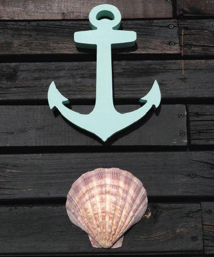 Wood anchor #wood #homedecor #perlanegra #anchor