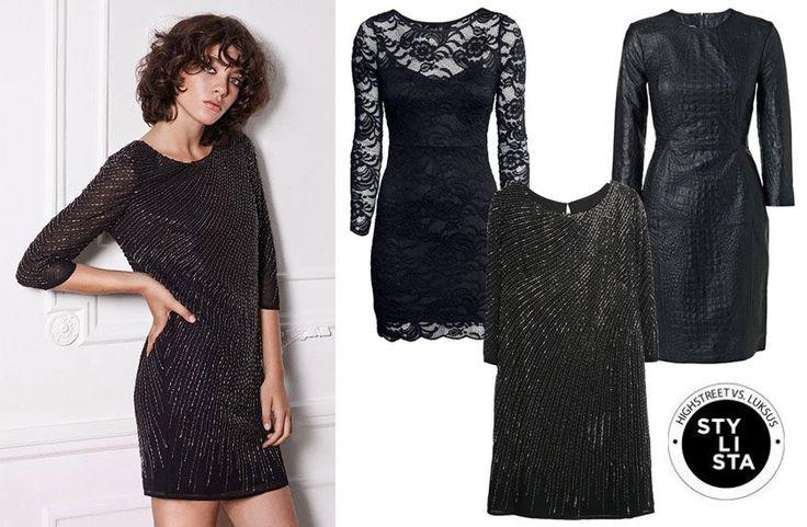 Shop den lille sorte  http://stylista.dk/trends-og-guides/highstreet-vs-luksus-den-lille-sorte