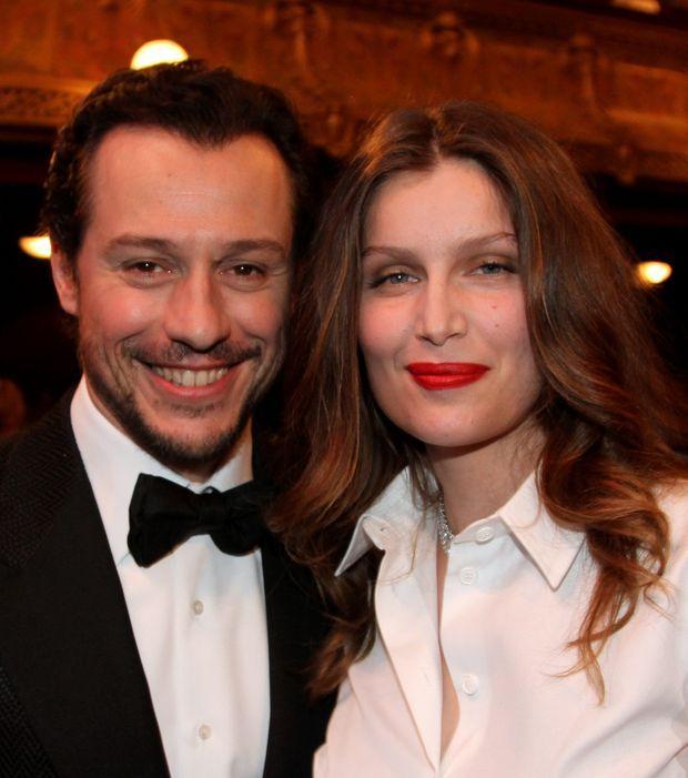 Laetitia Casta et son mari Stefano Accorsi ont la classe a toute épreuve