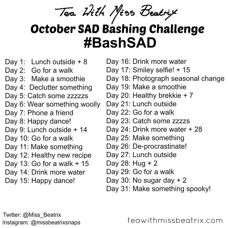 SAD Bashing Challenge