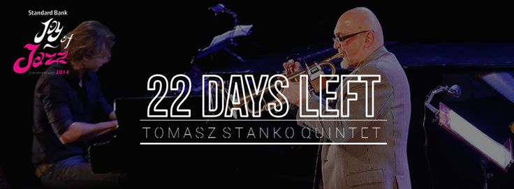 22 days till we get to see Tomasz Stańko at the Joy of Jazz Are you ready?   Buy your tickets now bit.ly/1lz9kCd