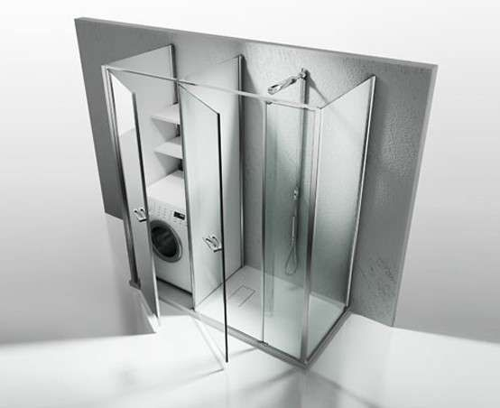 Bagno Con Zona Lavanderia : Bagno piccolo con lavatrice bagno con piccolo angolo lavanderia