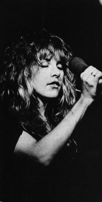 I have been in love with this beauty since she was my age. I have grown older.......She never has and never will. STEVIE NICKS - FLEETWOOD MAC