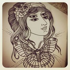 ... Tattoo LOVE on Pinterest | Gypsy girl tattoos Indian girl tattoos and
