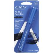 Almay One Coat Multi-Benefit Mascara, .24 fl oz, Blackest Black