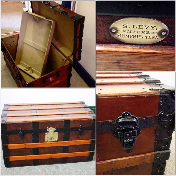 Custome Made Trunk - with removable tray