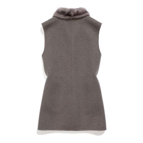 Loro Piana riley  Mink & Baby Cashmere Double Jersey
