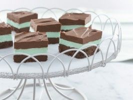 Easy No-Bake Creamy Chocolate Mint Bars (Sponsored) from ...