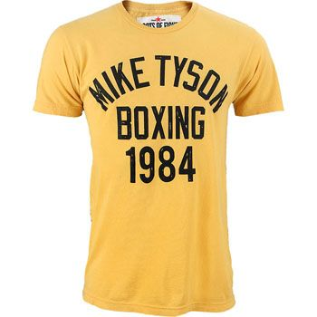 Roots of Fight Mike Tyson NY State Games Shirt,Yellow