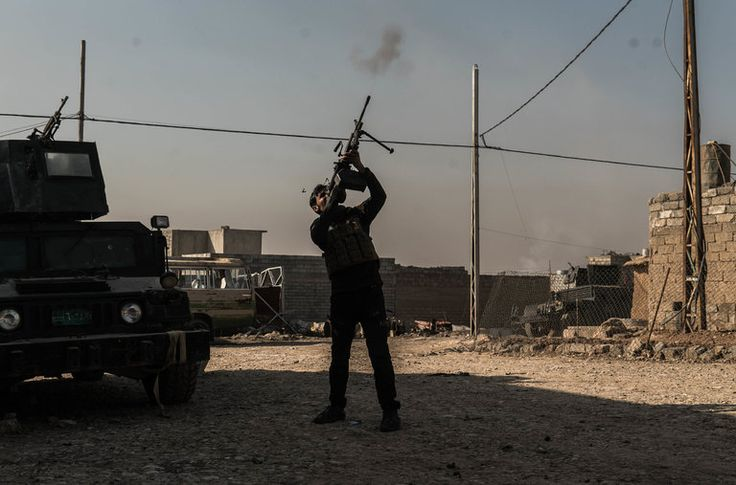 Embedded with Iraqi special forces, Ben C. Solomon was on the front lines in Mosul when a threat came from above: An ISIS drone dropping a grenade.