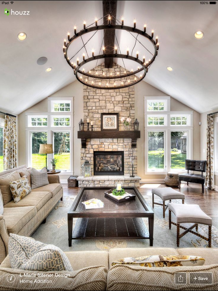 Best 25 rock fireplaces ideas on pinterest - Does a living room need a fireplace ...