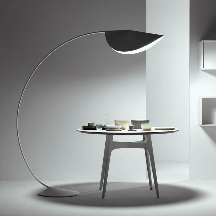 aliexpresscom acheter grand demi cercle arc lampe de pche cercle lampadaire ikea plancher - Lampadaire Salon