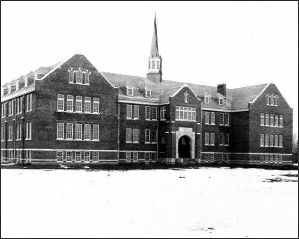 Edmonton Indian Residential School, circa 1930. A survivor of United Church's Edmonton Residential School claimed to have been the guinea pig of electro-shock experiments. More information by clicking link.