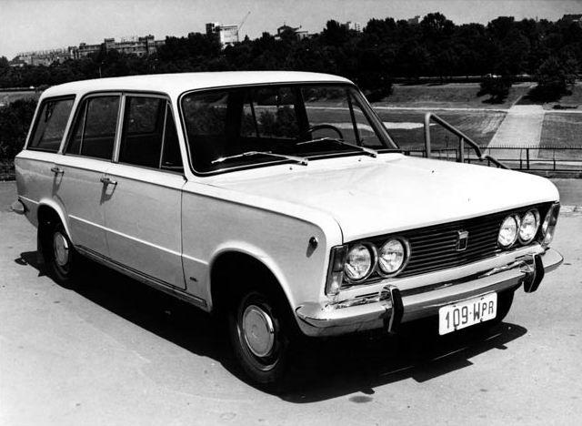 Polski-Fiat 125 P Break - 1972