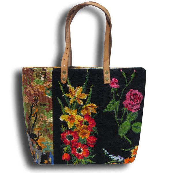 Canvas Handbag Gypsie, A French Tapestry Purse Le Zahia (€ ...