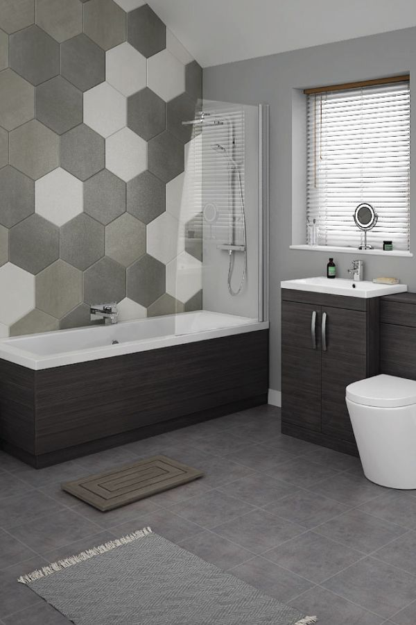 7 Bathroom Tile Ideas Colorful Tiled Bathrooms Patterned Bathroom Tiles Black Vanity Bathroom Small Bathroom Tiles