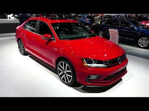 (408) New 2018 Volkswagen Jetta GLI Sedan - Exterior Tour - 2017 LA Auto Show, Los Angeles CA - YouTube