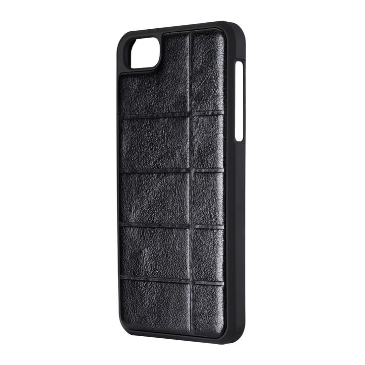 MANHATTAN CASE FOR IPHONE 5 WITH BLACK MICROFIBER INSERT - An elegant hard case for iPhone 5. Its back is enhaced by a black leather like mirofiber insert. The hard shell body comes with soft touch finish. http://www.ichicgear.com/manhattan-case-for-iphone-5-with-black-microfiber-insert.html