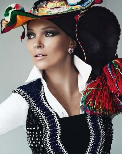 Kate Moss by Mario Testino for Vogue Paris,  April 2013