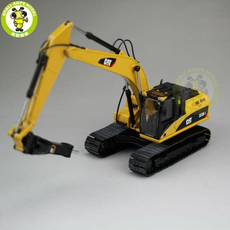 47.41$  Watch here - http://ali4nz.worldwells.pw/go.php?t=32763928913 - 1/50 CAT Caterpillar 55282 323D L Hydraulic Excavator with CAT H120E s Hydraulic Hammer Diecast Model Car
