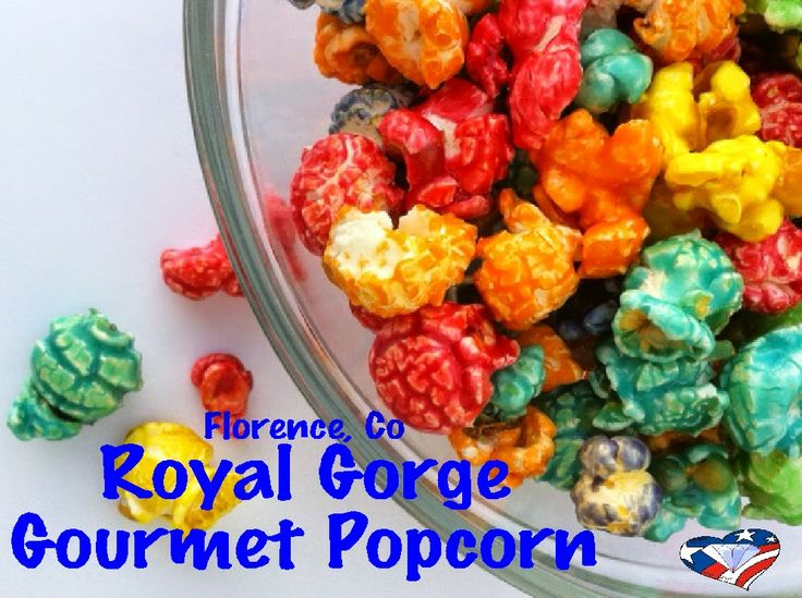 Royal Gorge Gourmet Popcorn Store in Florence Colorado.  A yummy, hidden gem in the midst of the Colorado mountains.