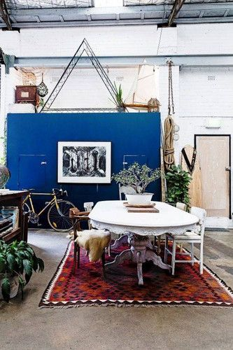 DOMINO:40 dining rooms that give us boho chic