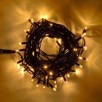 Vánoční světelný řetěz - 20 m, 120 teple bílých LED