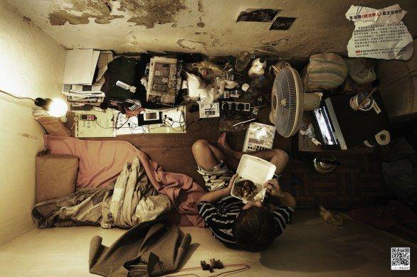 Scatti con vista sulle micro residenze di Hong Kong, una campagna sociale per sensibilizzare il governo sulle condizioni abitative dei più fragili
