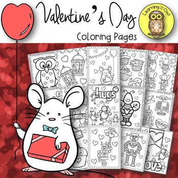 Enjoy these No Prep Printables for Valentine's Day! Included are 15 pages of assorted pages that your students will love to color during February and Valentine's Day week! This is a great resource for your early finishers or when it's raining and you have to stay inside for recess.Thank you so much!LearningWithTheOwl=====================================================Illustrations by: Teaching in the Tongass, Paula Kim Studio, Polliwog Place, Whimsy Clips, Lidia Barbosa, Pigknit…