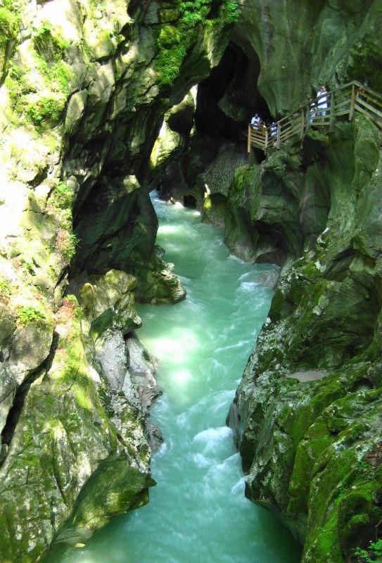 Lammerklamm Gorge, Golling, Austria