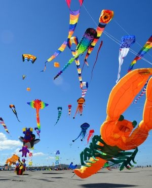 Kite Festival, Long Beach, Washington