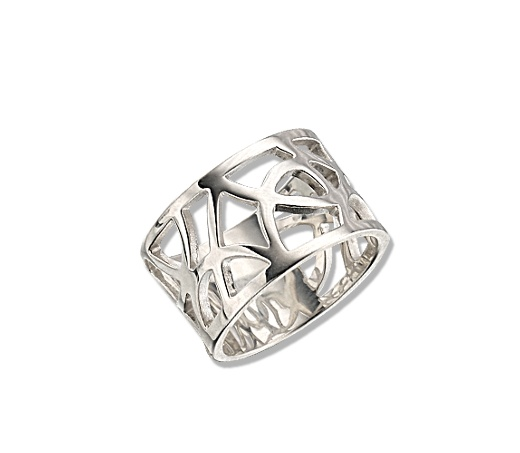 Totemi Ring, sterling silver